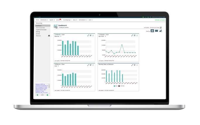 newer and better sage ubs software